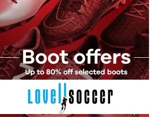 grteat deals on football boots