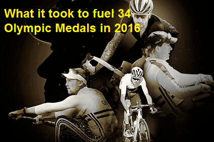 how to fuel for an olympic medal