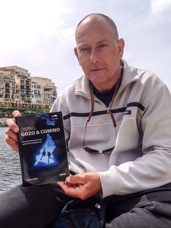 Win a copy of new book 'Diving Gozo & Comino: The essential guide to an underwater playground' by Richard Salter!!!