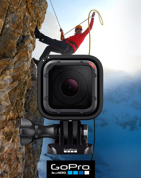 win gopro hero camera
