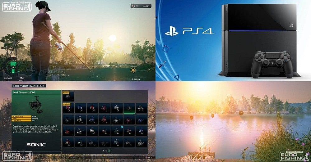 win ps4 and euro fishing