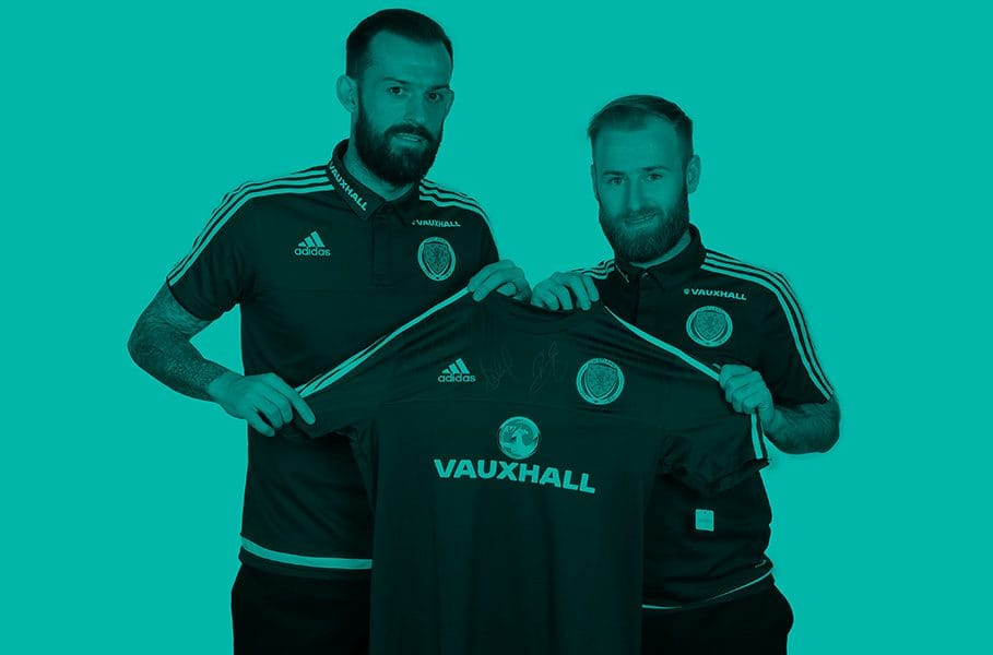 win signed scotland top