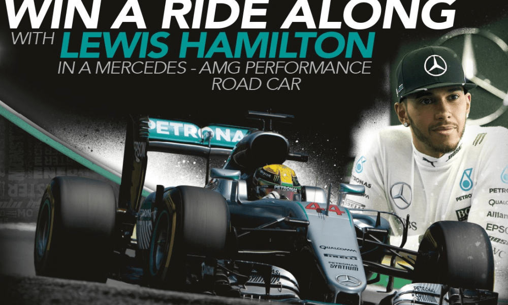 win-a-ridealong with lewis hamilton