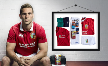 win a british and irish lions signed shirt