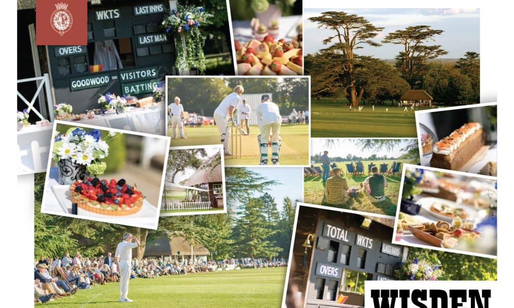 win a memorable day of cricket at goodwood