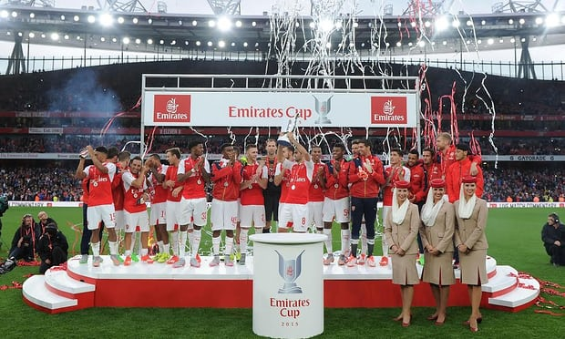 Win a pair of VIP tickets to see Arsenal in the 2017 Emirates Cup