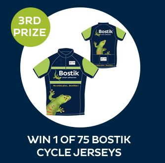 win a bostick cycling jersey