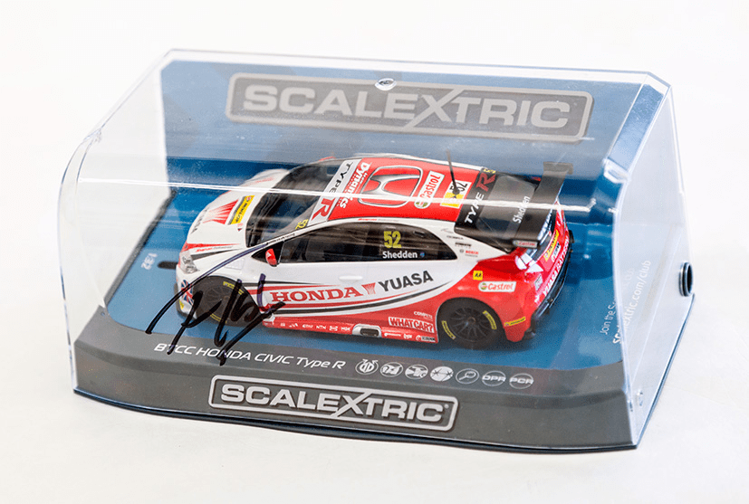 win scalextric signed car