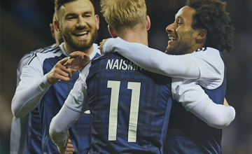 win a signed scotland home shirt