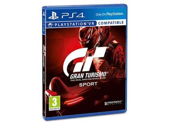 Win a Gran Turismo Sport™ prize package