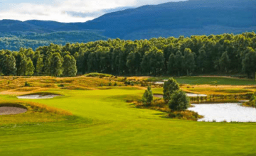 win a luxury golf trip for four