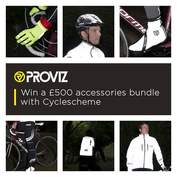 win a provis cycle bundle worth £500