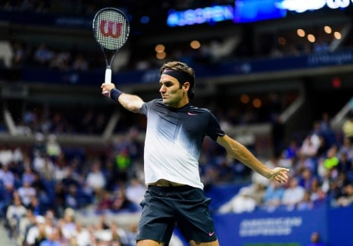 win a tennis racket signed by federer
