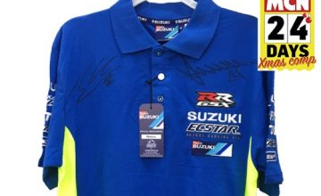 win suzuki signed shirt