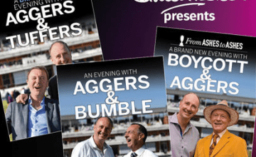 spend evenings in the company of Boycott & Aggers, Aggers & Tuffers and Aggers & Bumble