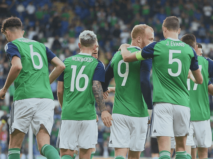 win a signed northern ireland shirt