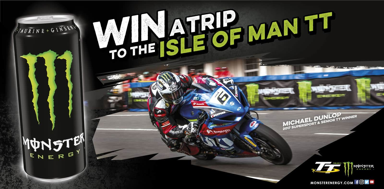win a trip to the isle of man TT - yoursporty
