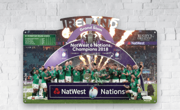 win Ireland grand slam 2018 prize
