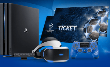 win a PS4 prize bundle