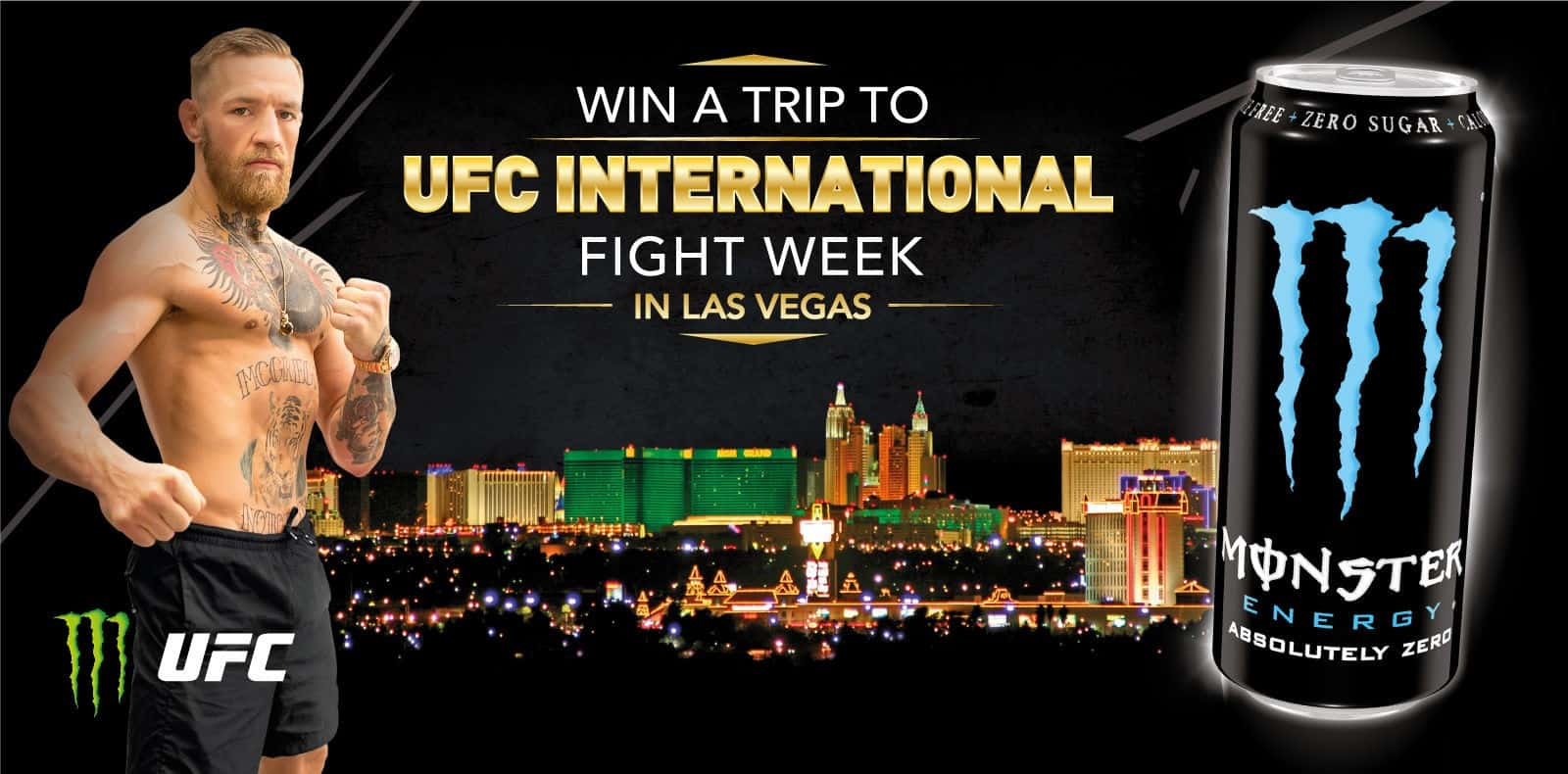 Win a trip for 2 to UFC Fight week in Las Vegas