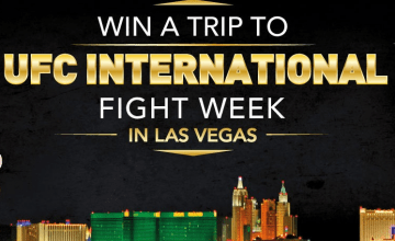 win tickets to UFC fight night Las Vegas