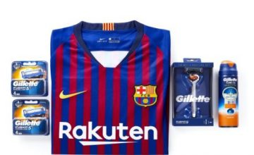 win a signed Barcelona shirt