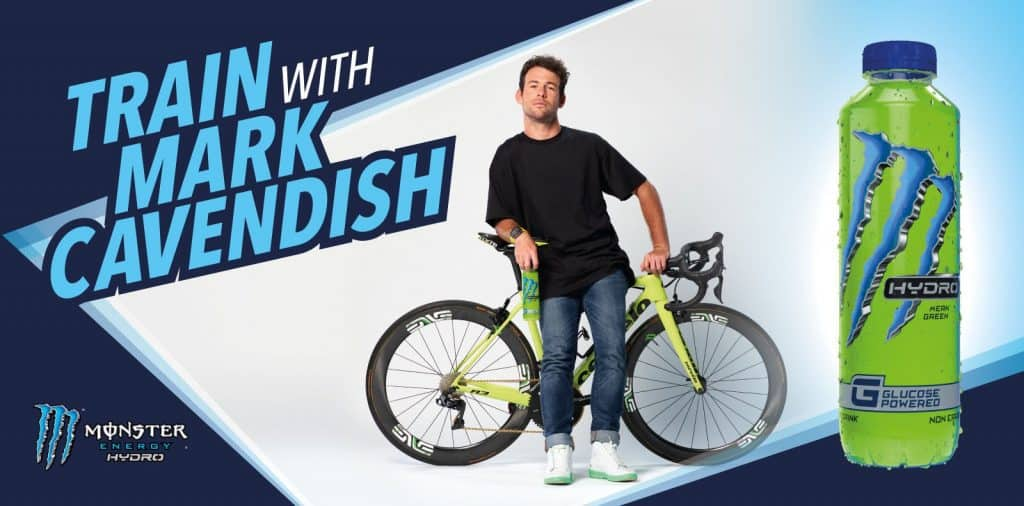 win chance to train with mark cavendish