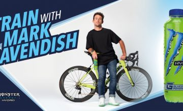 win a chance to train with mark cavendish