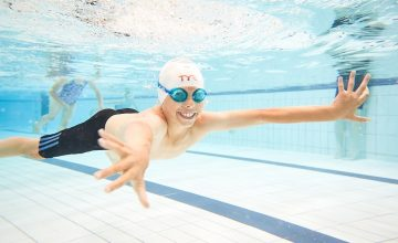 win a year of child swimming lessons