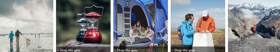 Shop the Ultimate Outdoors range
