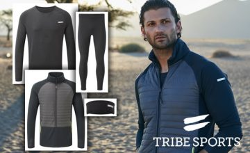 WIN! Tribe Sports running gear bundles worth £214 each